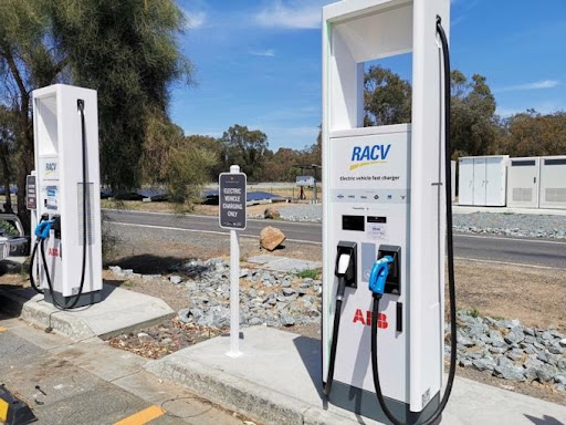 RACV Ultra Rapid chargers
